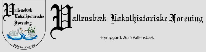 Vallensbæk Lokalhistoriske Forening